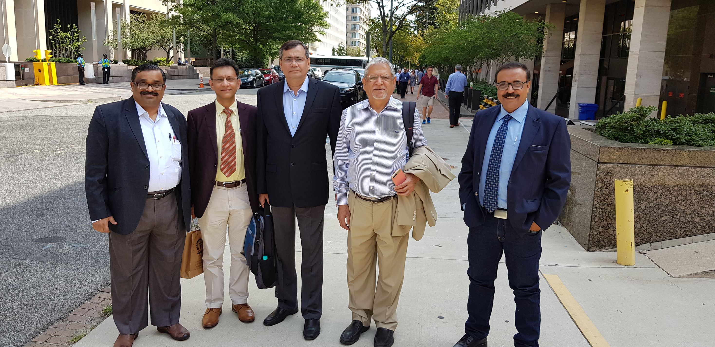 IIT KGP Delegation Visits USA for International Outreach