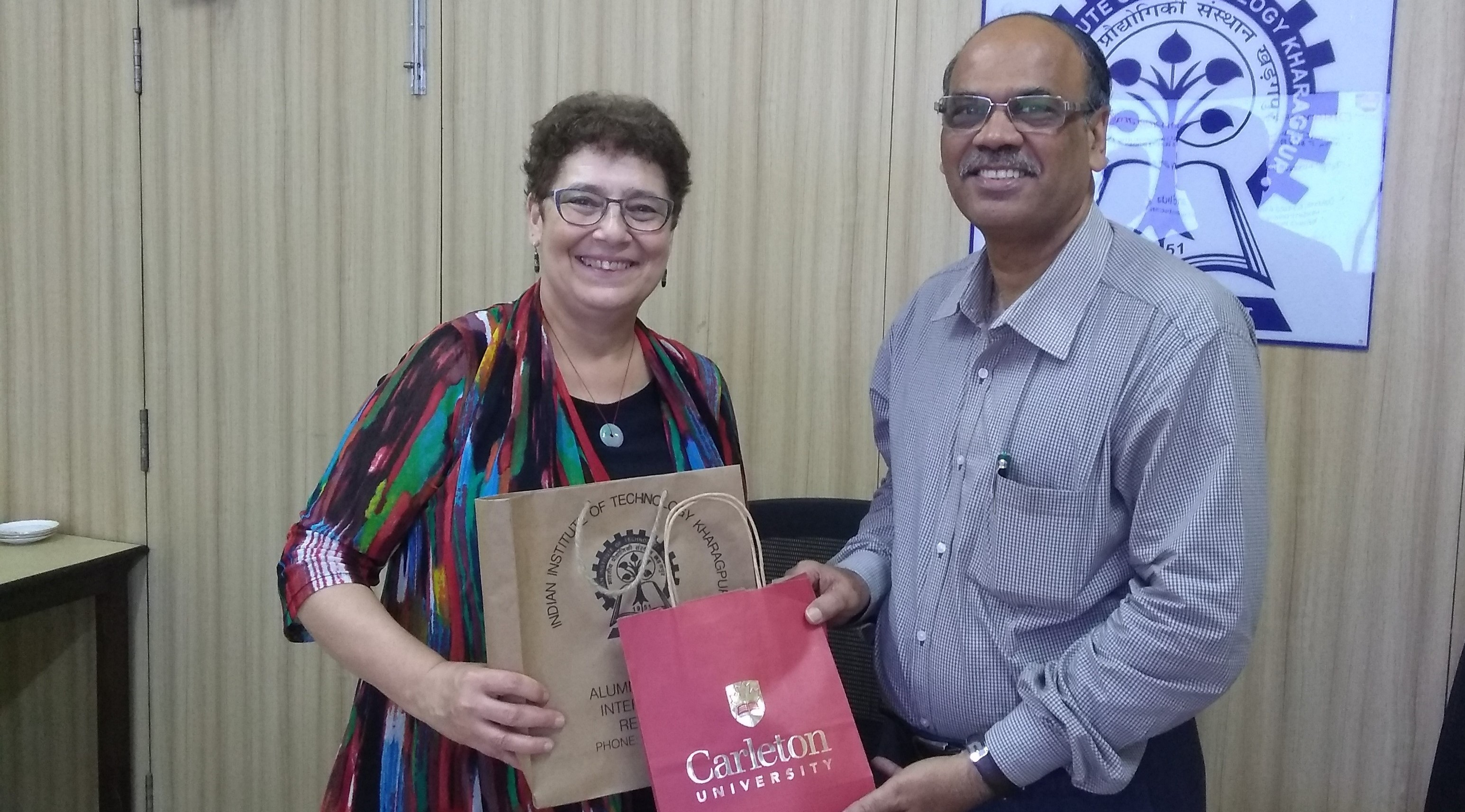 IIT KGP and Carleton University to Explore Academic Exchanges