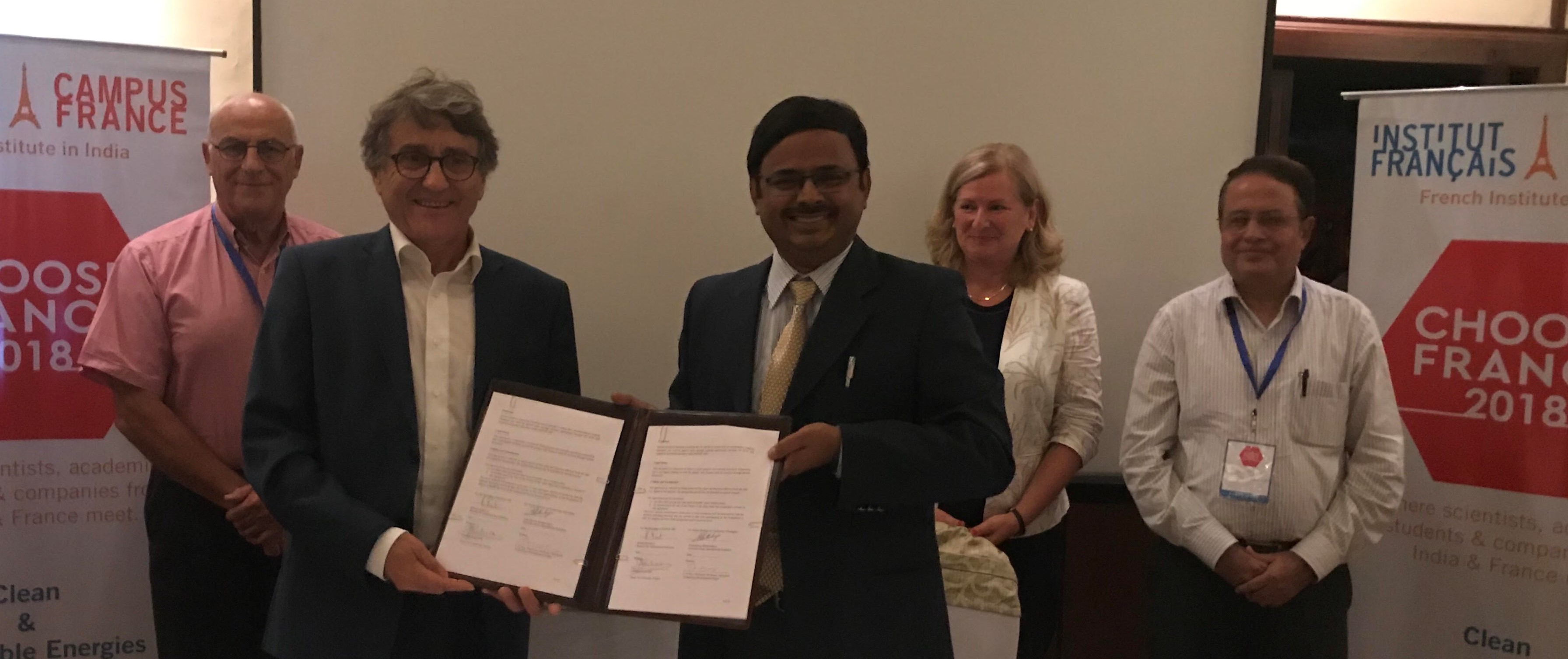 IIT KGP Collaborates with Top French Doctoral Network for Doctoral Education and Research