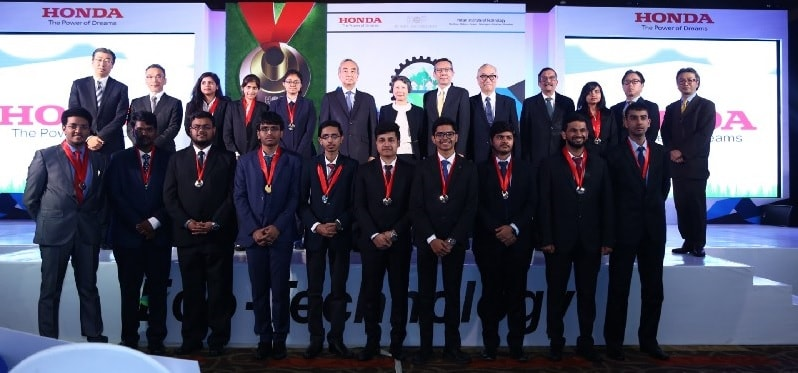 Honda Y-E-S award for three students of IIT Kharagpur