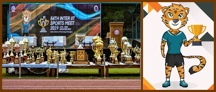 54th Inter IIT Sports Meet Flags Off at IIT Kharagpur
