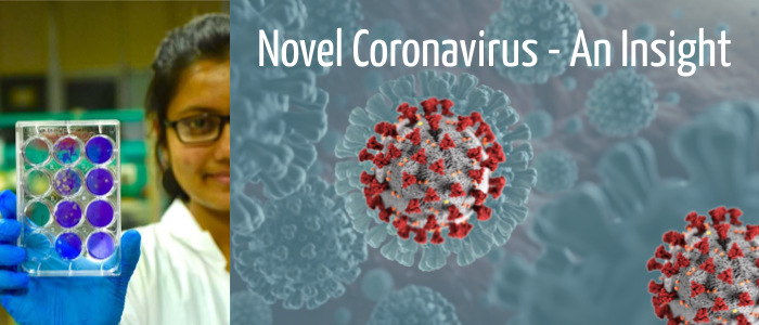 Novel coronavirus – Insights by Prof. Arindam Mondal