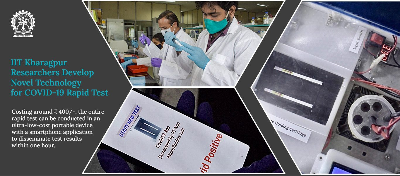 IIT Kharagpur Researchers Develop Novel Technology for COVID-19 Rapid Test