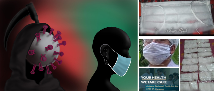 IIT Kharagpur Start-up Launches Low-cost Surgical Face Masks