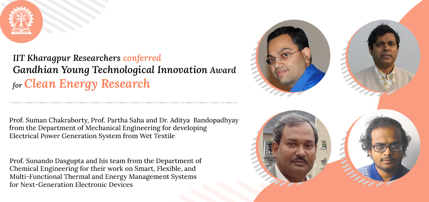 GYTI Award for IIT Kharagpur's Clean Energy Research