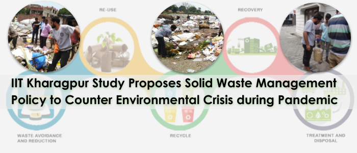 IIT KGP Study Proposes Pandemic Waste Management Policy