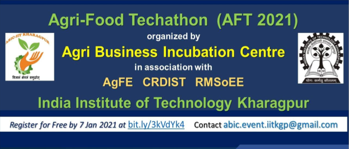 Agri-Food Techathon @ IIT Kharagpur to promote agri-tech innovations