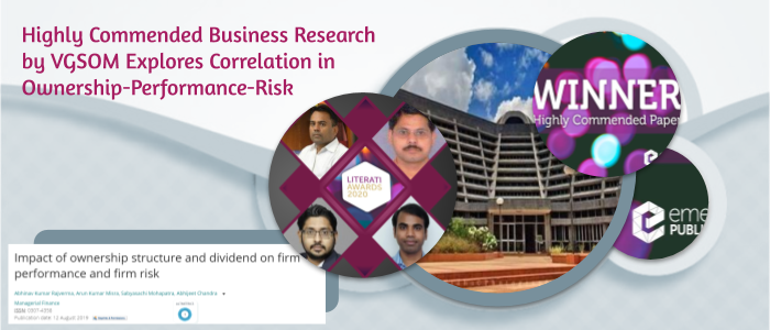 Higher Risk in Concentrated Business Control – VGSOM Researchers