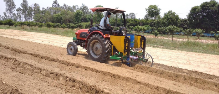 Automating sugarcane plantation to boost profitability