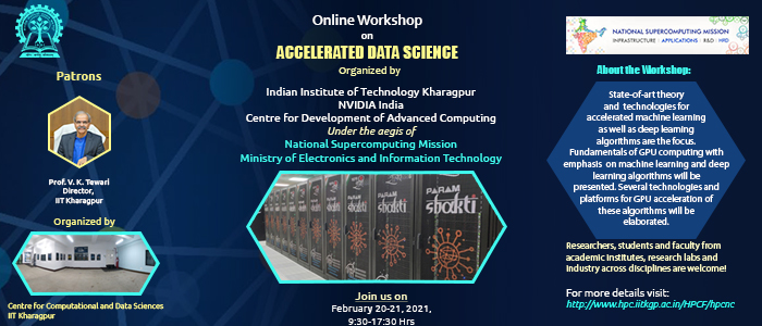 Online Workshop on Accelerated Data Science