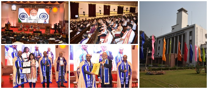 Pursue Innovative Research to Develop Solutions for Indigenous Challenges with Global Reach – PM to Students at 66th Convocation