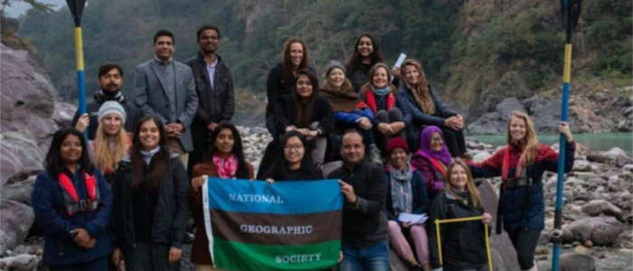 Studying Plastic Pollution in the Ganga with National Geographic