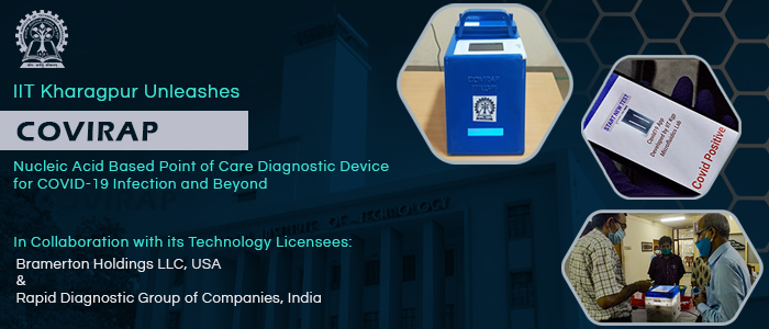Global Launch of COVIRAP – Nucleic acid-based Point-of-Care Diagnostic Device for COVID-19 and beyond