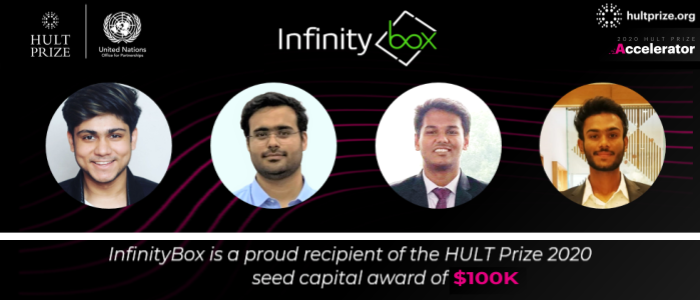 IIT Kharagpur Students Startup InfinityBox Awarded Hult Prize Seed Funding