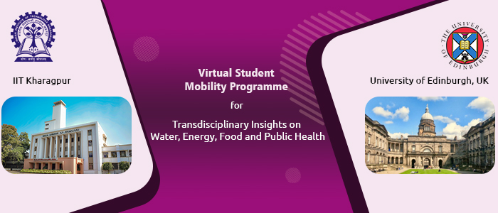 Virtual Student Mobility Programme with U of Edinburgh for Transdisciplinary Insights on R&D Topics