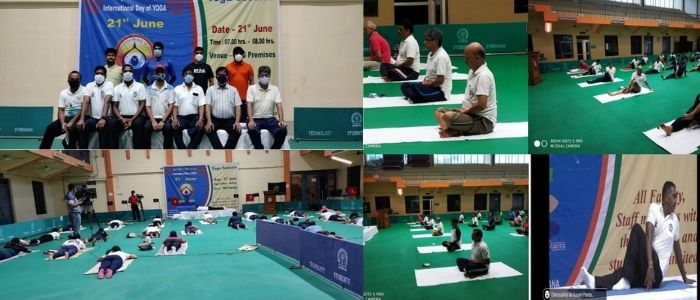 Observation of 7th International Yoga Day at IIT Kharagpur