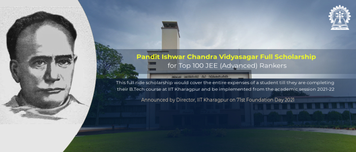 IIT Kharagpur Offers First-of-its-Kind Full Ride Scholarship