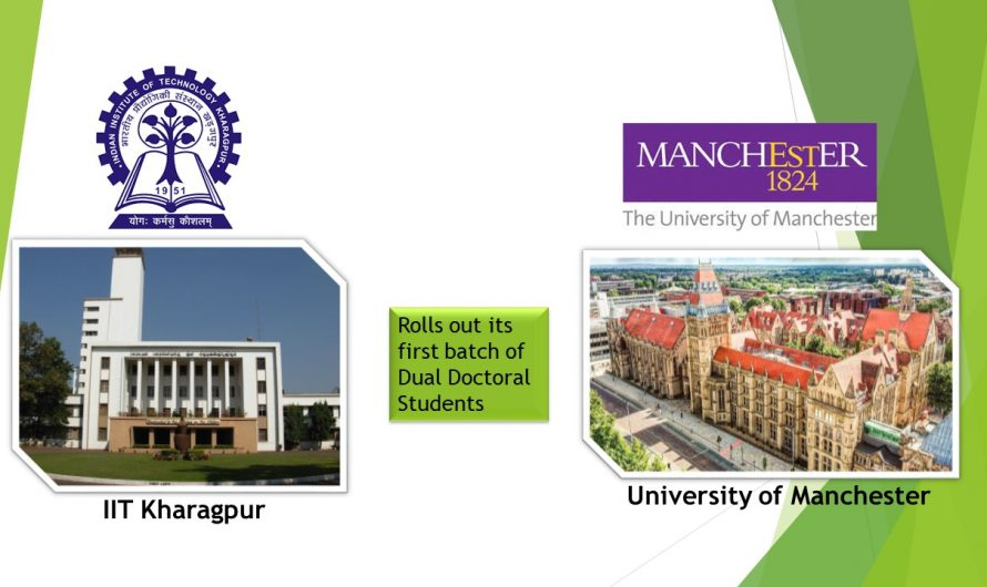 IIT Kharagpur and University of Manchester Rolls out its first batch of Dual Doctoral Students